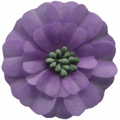 Day of Thanks Elements- Purple Flower