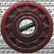 Free Spirit Elements- Button