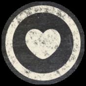 Free Spirit Elements- Chalk Flair Heart