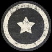 Free Spirit Elements- Chalk Flair Star