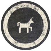 Free Spirit Elements- Chalk Flair Unicorn