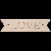 Free Spirit Elements- Chipboard Love