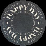Free Spirit Elements- Happy Day Chalk Circle