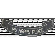 Free Spirit Elements- Happy Place Banner