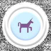 Free Spirit Elements- Puffy Flair Unicorn
