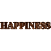 Free Spirit Elements- Wood Happiness