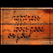 Free Spirit Elements- Wood Plaque