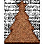 Christmas Cork Piece Christmas Tree 1