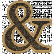 HFH Cardboard Sticker- Ampersand