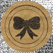 HFH Cardboard Sticker- Flair Bow