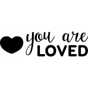New Day Baby Word Art - You Are Loved