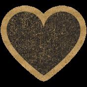 HFH Cardboard Sticker- Heart 2