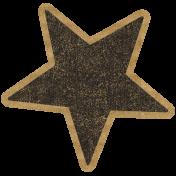 HFH Cardboard Sticker- Star 1
