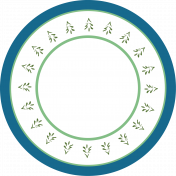Home For The Holidays Elements- Circle Tag