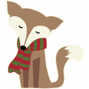 Home For The Holidays Elements- Fox Print