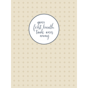 New Day Baby Card 13- 3x4