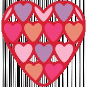 Valentine's Clip Art- Hearts 1