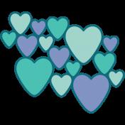 Valentine's Clip Art- Hearts 2