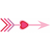 Valentine's Clip Art- Arrow 2