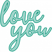 Valentine's Clip Art- Love You