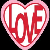 Valentine's Clip Art- Love