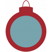Home For The Holidays Elements- Sticker Print Ornament 2