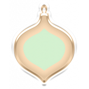 Baby's First Christmas Elements- Sticker Ornament 1