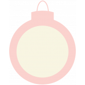 Baby's First Christmas Elements- Sticker Print Ornament 2