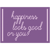 Free Spirit- Word Happiness Print
