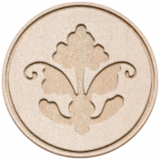 Treasured Elements- Chipboard Coin 1