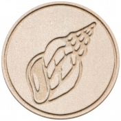 Treasured Elements- Chipboard Coin 2