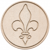 Treasured Elements- Chipboard Coin 3