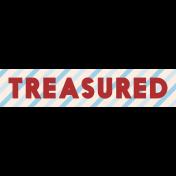 Treasured Elements- Print Label Treasured
