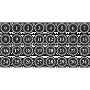 Tea And Toast Print Numbers- Layered