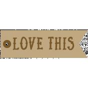 Tea & Toast Elements Kit- Print Word Love This