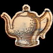 Tea & Toast Elements Kit- Wood Teapot