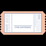 Build Your Basics Tickets Kit- Ticket 25