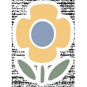 Fresh Elements Kit- Print Sticker Flower 1
