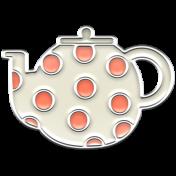 A Mug & A Book Elements- Enamel Teapot