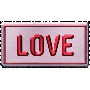 Build Your Basics Metal Signs Kit- Love