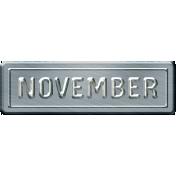 Build Your Basics Metal Signs Kit- November