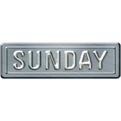Build Your Basics Metal Signs Kit- Sunday