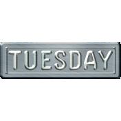 Build Your Basics Metal Signs Kit- Tuesday
