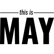 The Good Life- May Stamps Kit- May