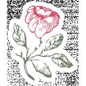 Flower Power Mini Kit - Vintage Sticker 12