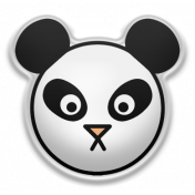 The Good Life- May Elements- Puffy Panda Sticker