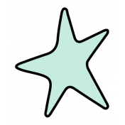 The Good Life- May Elements- Sticker Star Mint