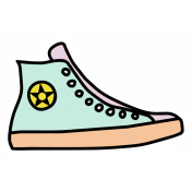 The Good Life- May Elements- Sticker Sneaker
