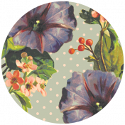 Seriously Floral #2 Elements Kit- Circle 7