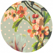 Seriously Floral #2 Elements Kit- Circle 9